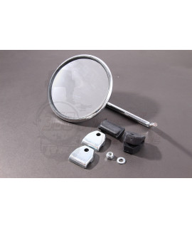 Specchietto laterale, fissaggio su bordo scudo Parimor