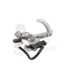 Pedale sezione tonda freno idraulico Crimaz, specifico per freno a disco posteriore, Vespa 50 L, N, R, 125 Primavera, Et3