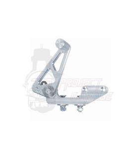Pedale freno posteriore modifica con freno a disco