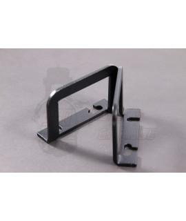 Gancio porta borsa/tanica inox nero fissaggio pedana centrale Smallframe, Largeframe