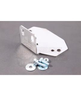 Piastra Inox fissaggio regolatore di tensione vano carburatore Vespa 50 Special, 125 Et3, Primavera, 50 L, N, R