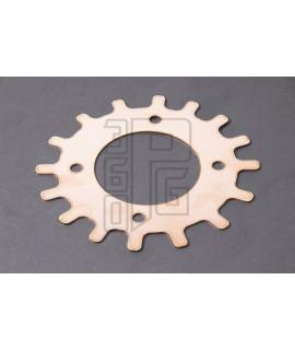 """Spessore 1mm  W1R """" anti detonante """" testata cilindro in lega di rame 360PG Vespa PX 125, 150, 177 cc"""