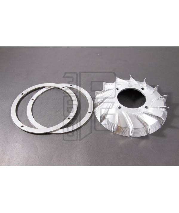 Ventola CNC con anelli di appesantimento accensione Vespatronic, Parmakit, Polini Vespa Smallframe
