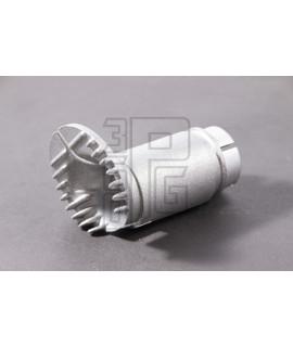 Bocchettone in alluminio collettore originale Piaggio Dell'orto SHB 16.16, 16.10 mm Vespa PK 50, XL, FL, HP, XL2
