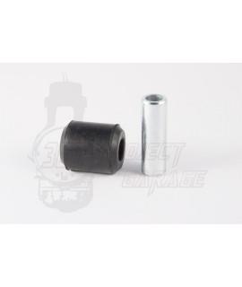 Silent Block rinforzato ammortizzatore posteriore attacco inferiore con anima in acciaio ( L 48 mm, D.9 mm ) BGM Pro Vespa PX, G