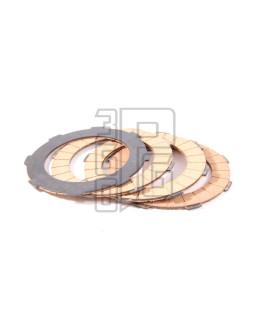 Set 4 dischi guarniti frizione rinforzati diametro 107 mm Sip performa Vespa PX nce