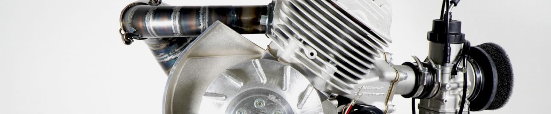 Componenti meccanici originali, elaborazioni e ricambi Vespa Smallframe Largeframe